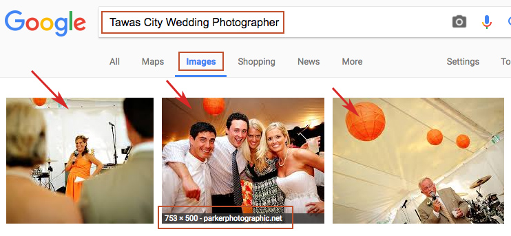 use keywords to rank your photos