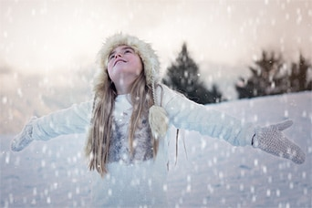 GIMP | How to Add Snow to Your Photos in GIMP 1