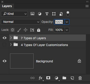 Photoshop Layers Explained for Beginners 1
