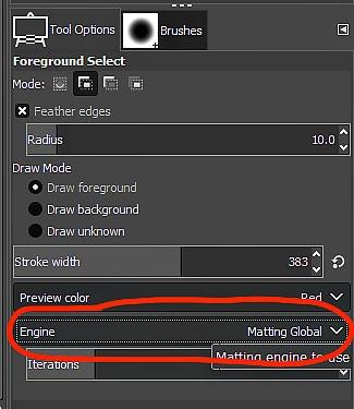 GIMP Tutorial - Foreground Select Tool 8