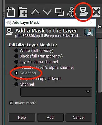 GIMP Tutorial - Foreground Select Tool 11