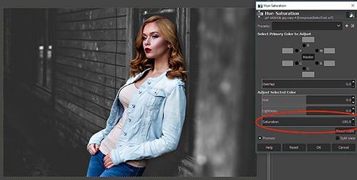 GIMP Tutorial - Foreground Select Tool 17