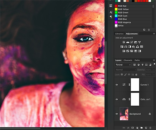 Photoshop Adjustment Layers 1