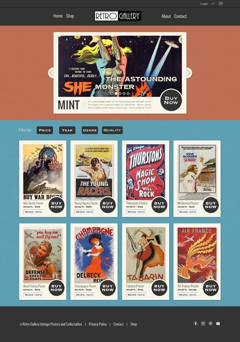 7 Photoshop Web Design Projects 1